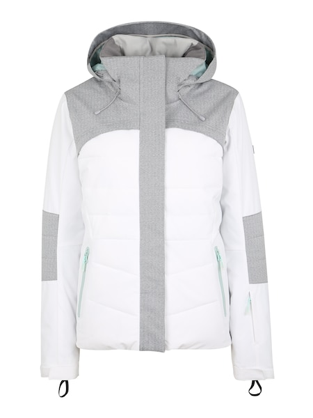 Jacken - Sport Jacke 'DAKOTA' › Roxy › hellgrau weiß  - Onlineshop ABOUT YOU
