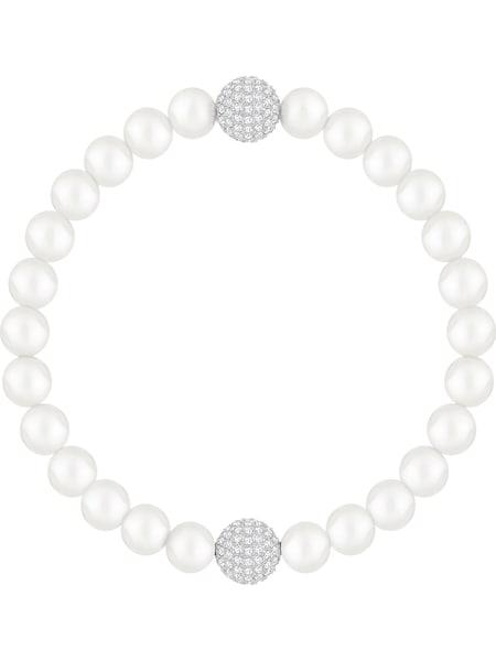 Armbaender für Frauen - Swarovski Armband silber transparent perlweiß  - Onlineshop ABOUT YOU