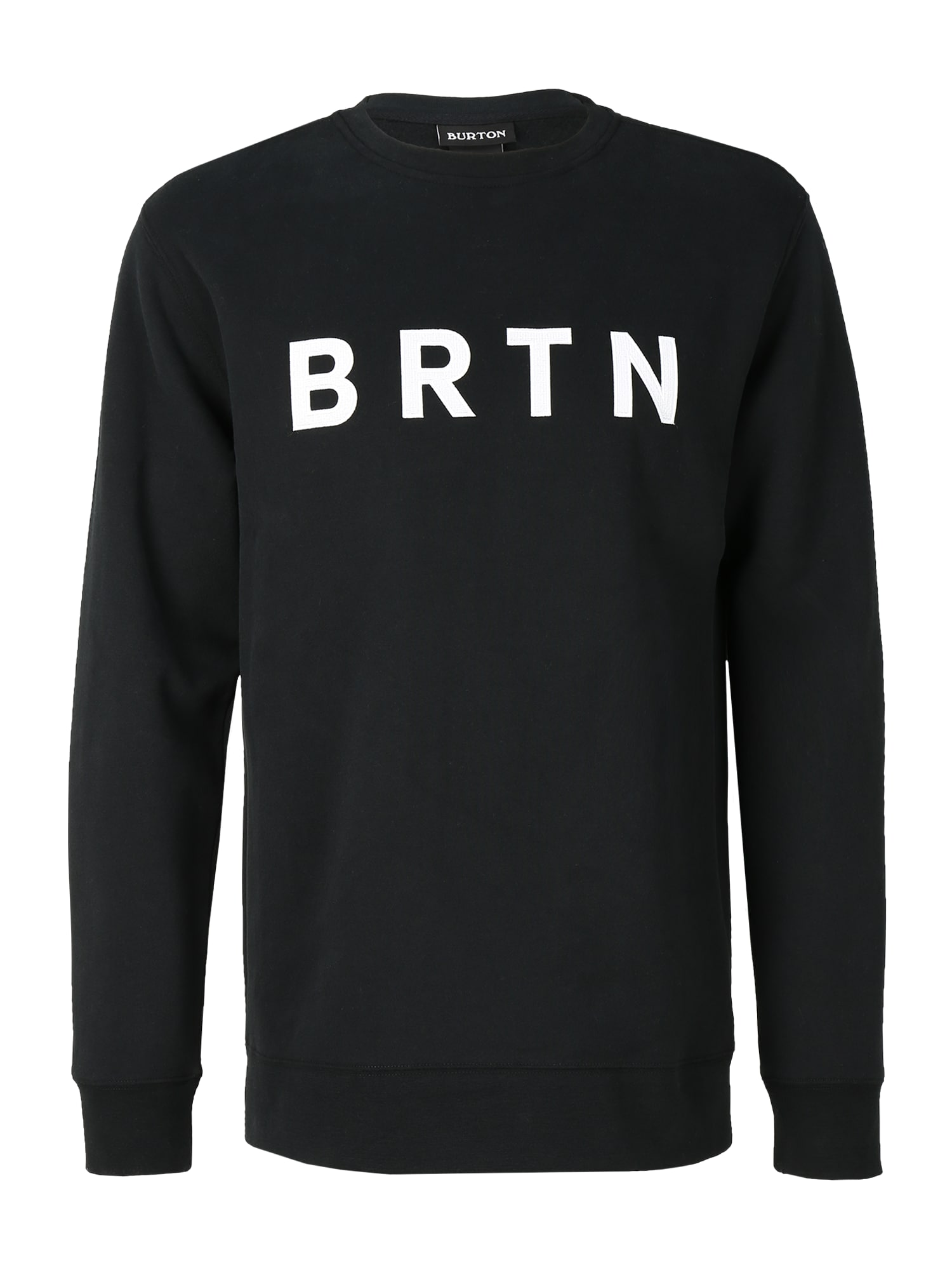 BURTON Sportinio tipo megztinis 'Crew' juoda / balta
