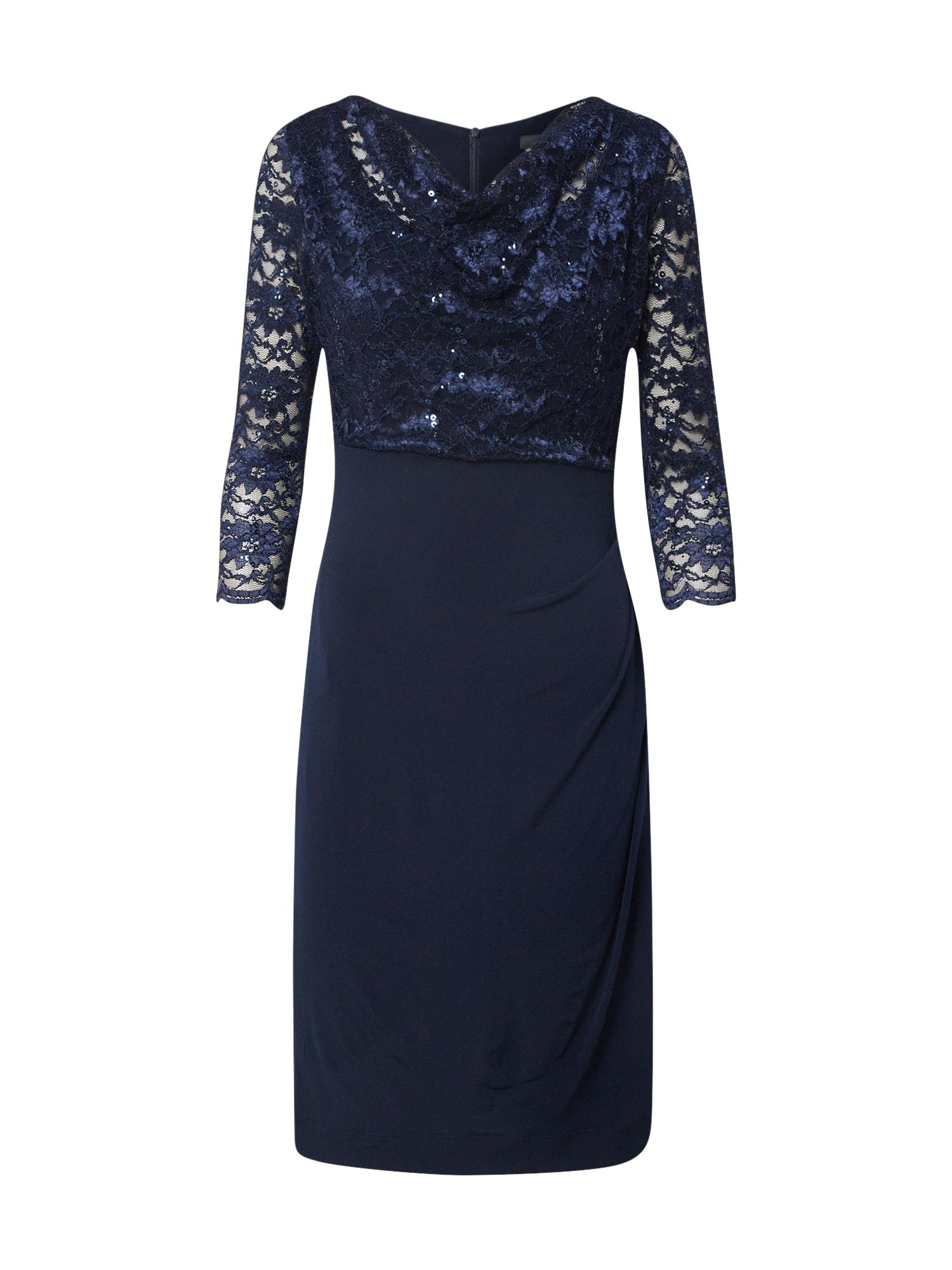 SWING Suknelė tamsiai mėlyna jūros spalva