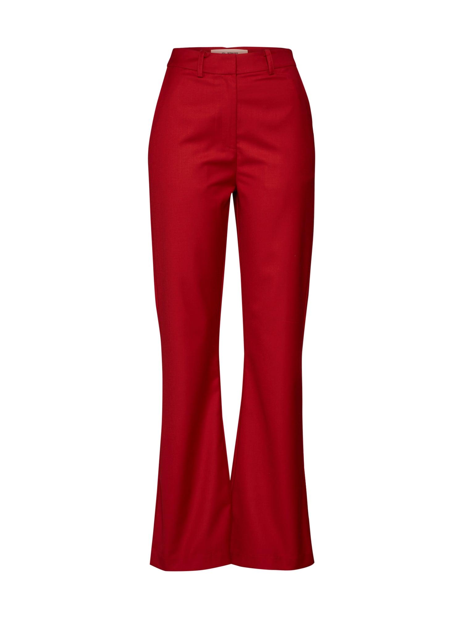 Kalhoty SHANGHAI TROUSER červená 4th & Reckless