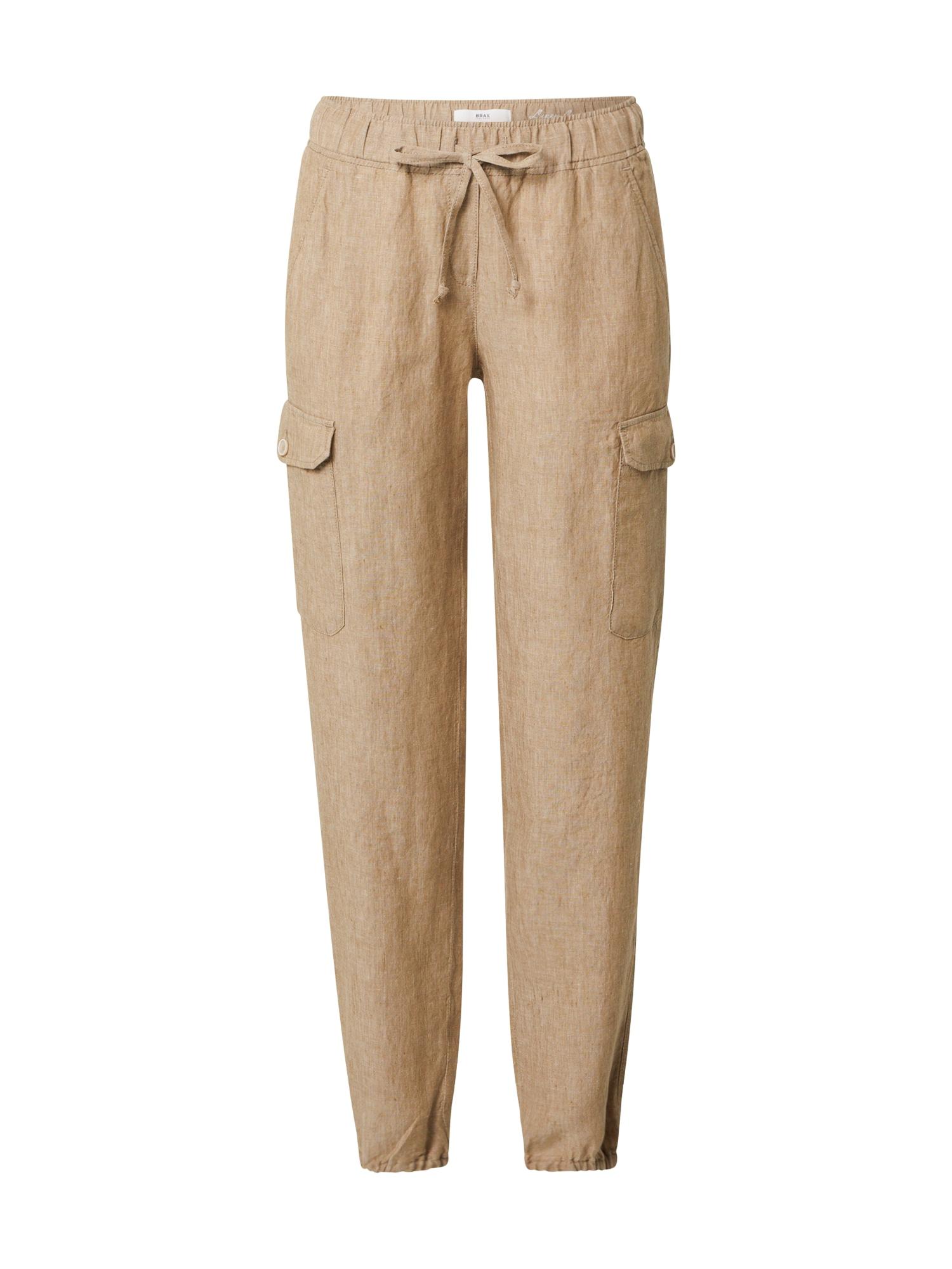 BRAX Chino stiliaus kelnės 'MAREEN' tamsiai smėlinė