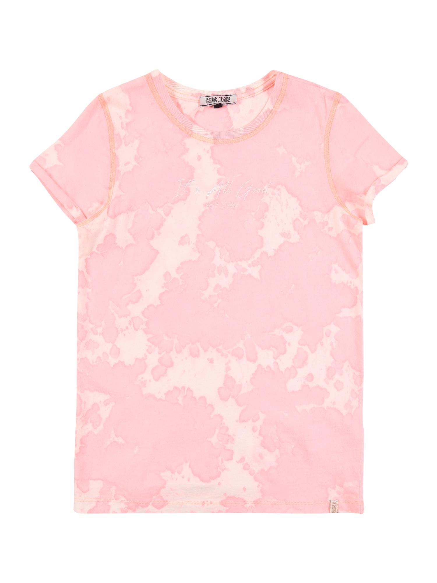 Cars Jeans Marškinėliai 'KIDS ISMA TS' rožių spalva / abrikosų spalva