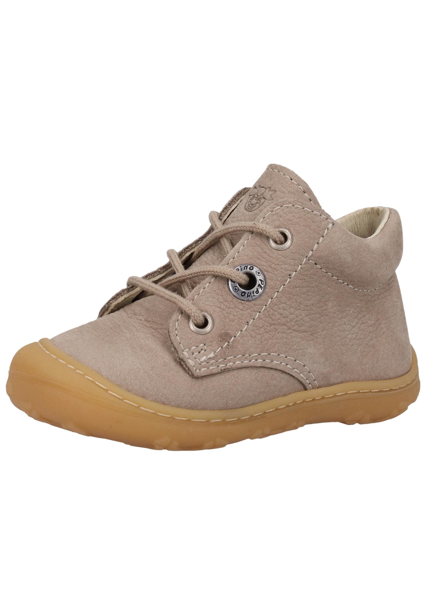 Pepino Pirmieji vaiko vaikščiojimo bateliai ruda
