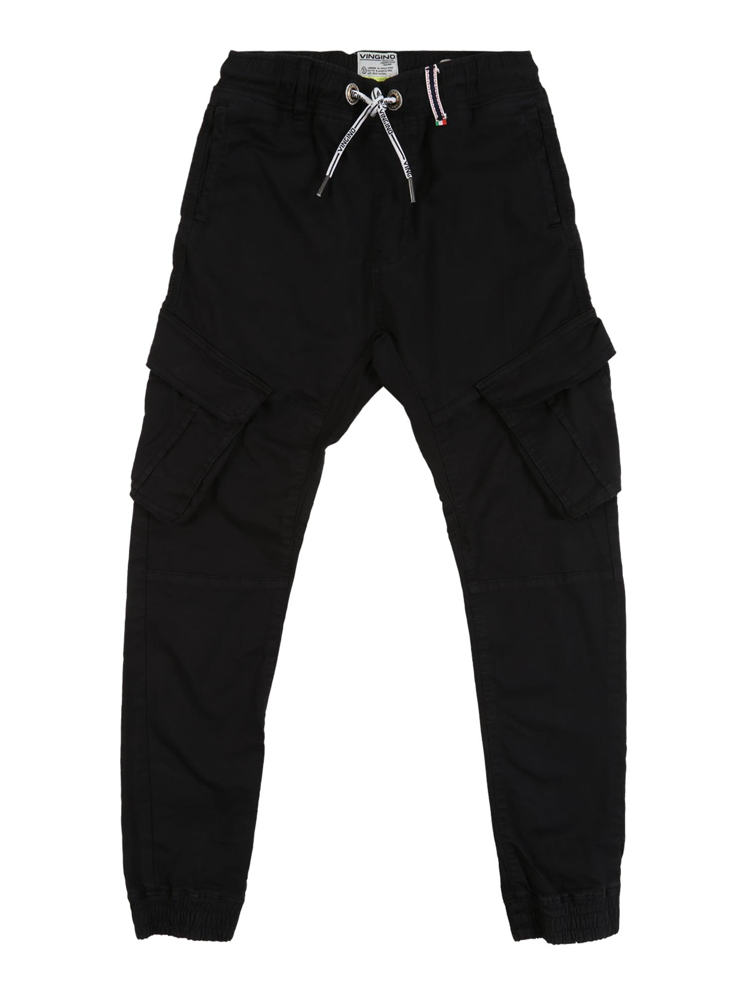 VINGINO Kelnės juodo džinso spalva