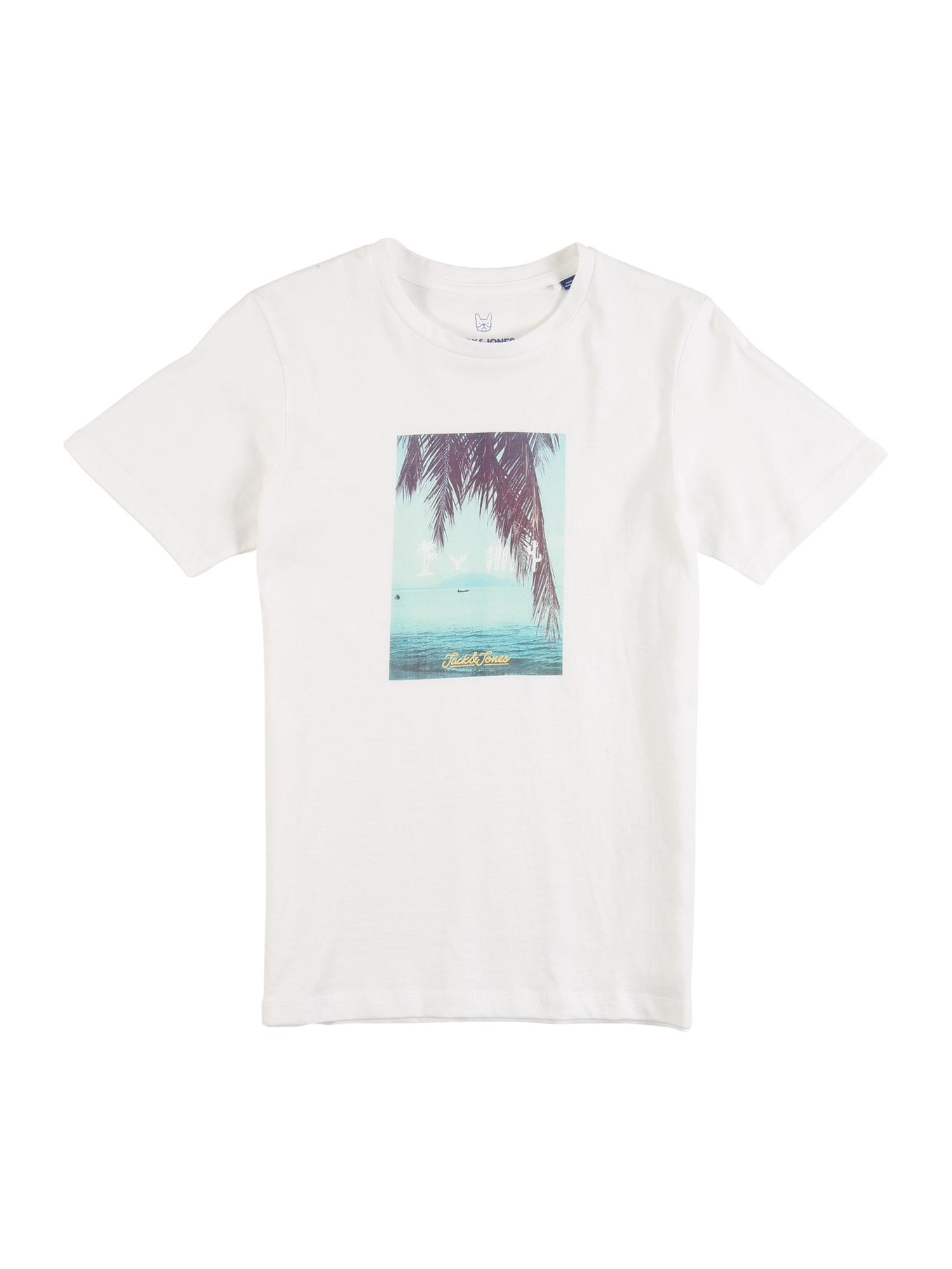 Jack & Jones Junior Marškinėliai smėlio