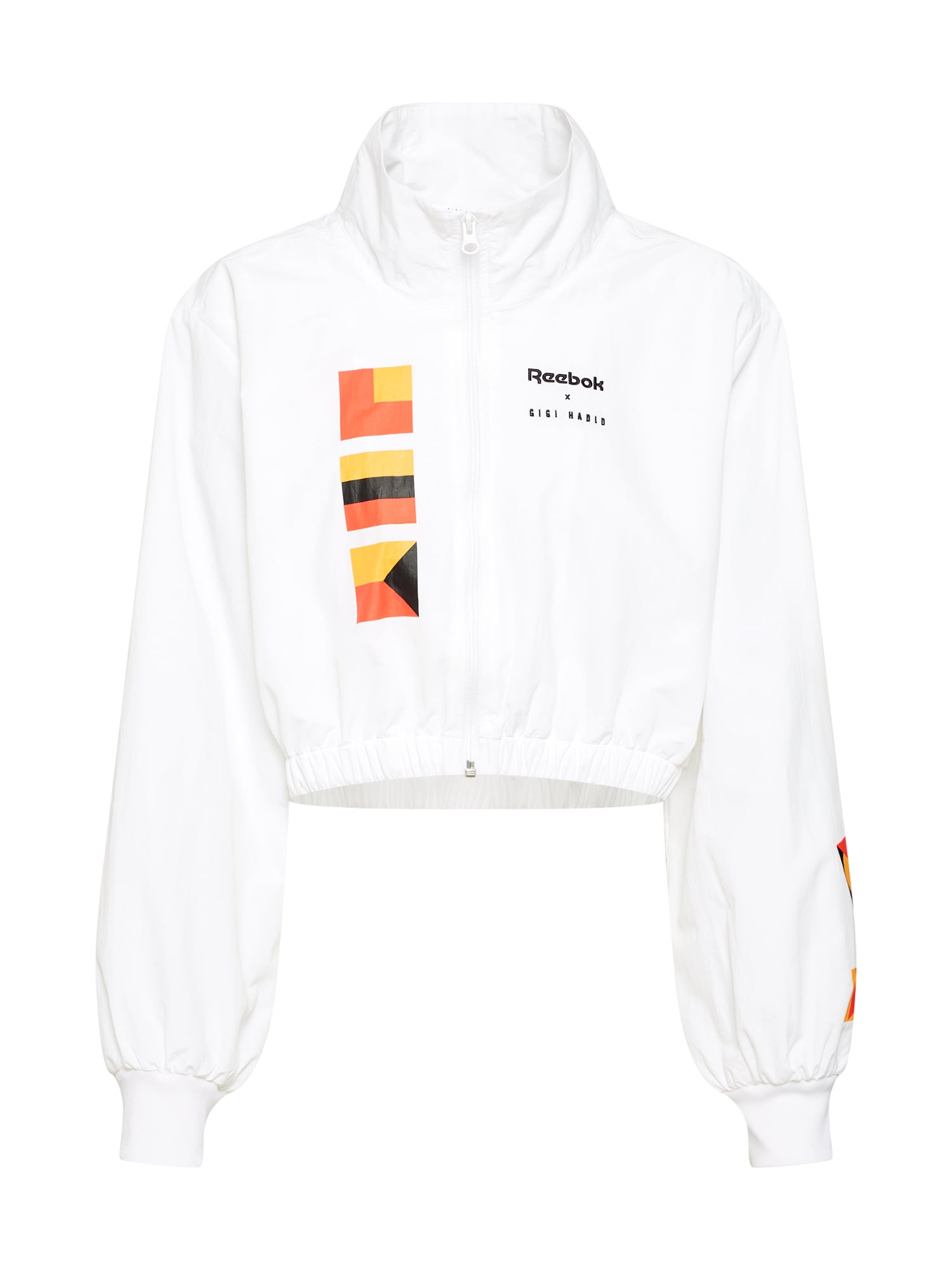 Přechodná bunda Gigi oranžová oranžově červená černá bílá Reebok Classic
