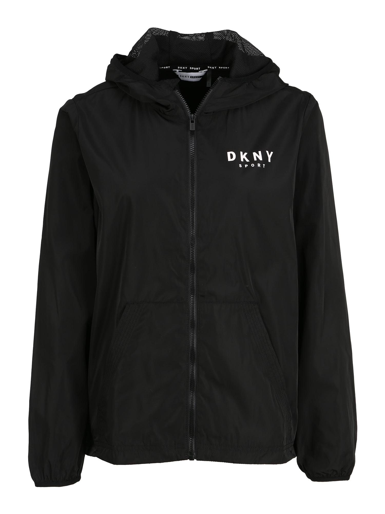 DKNY Sport Sportinė striukė juoda