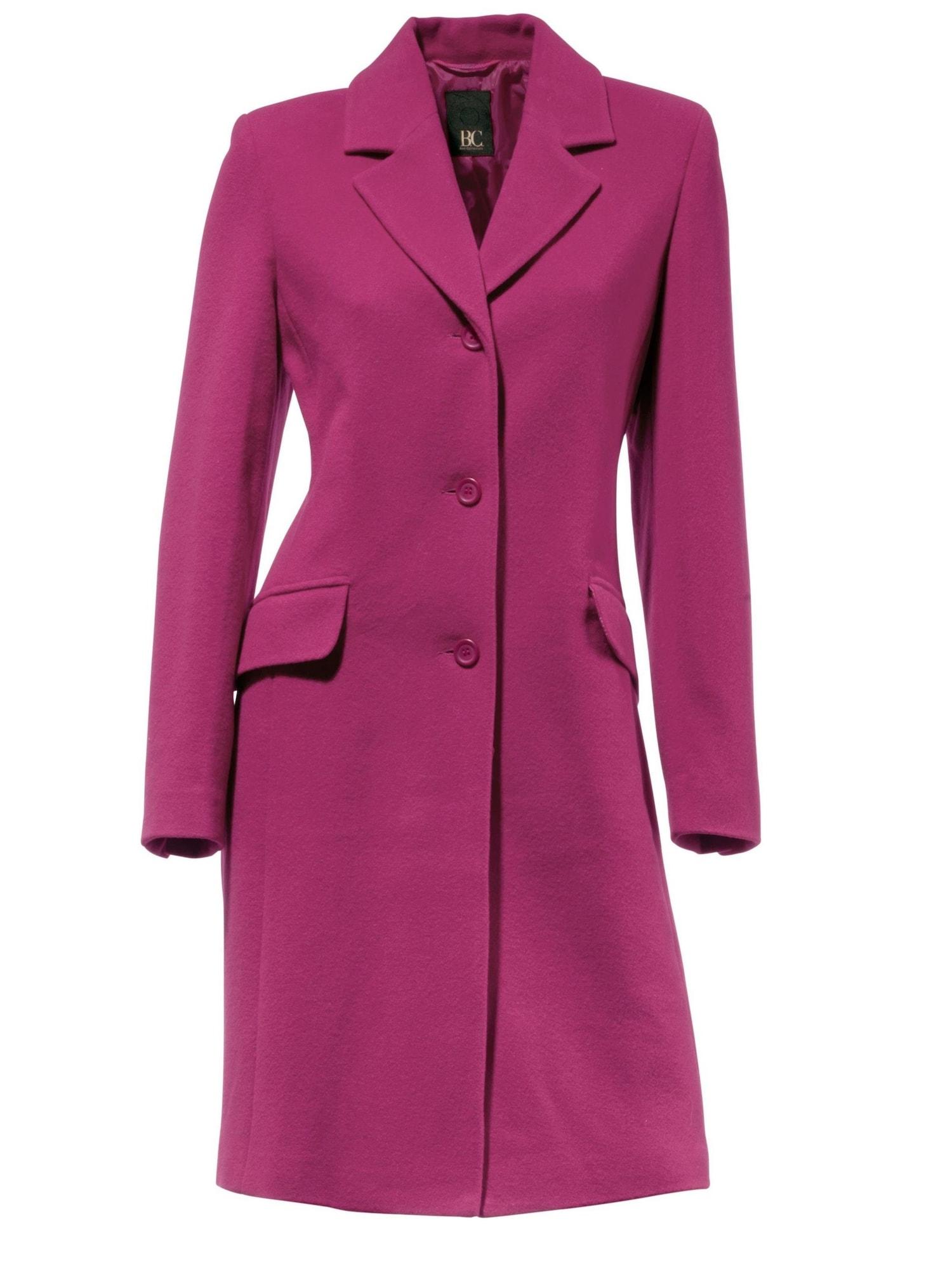 heine Demisezoninis paltas fuksijų spalva