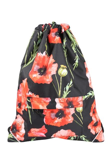 Sporttaschen für Frauen - Turnbeutel 'Allover Lee' › Forvert › grün rot schwarz  - Onlineshop ABOUT YOU
