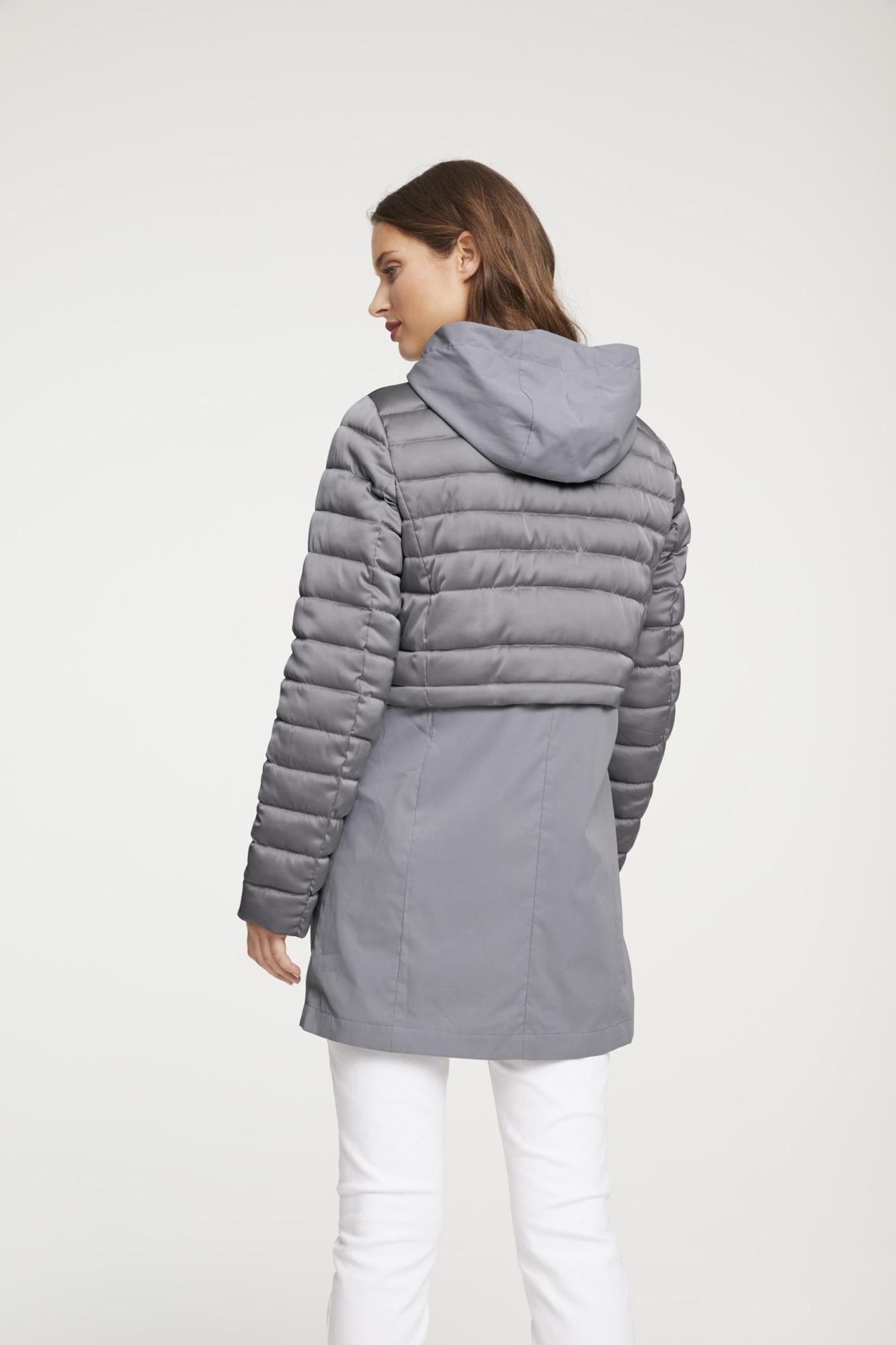 heine Demisezoninis paltas šviesiai pilka