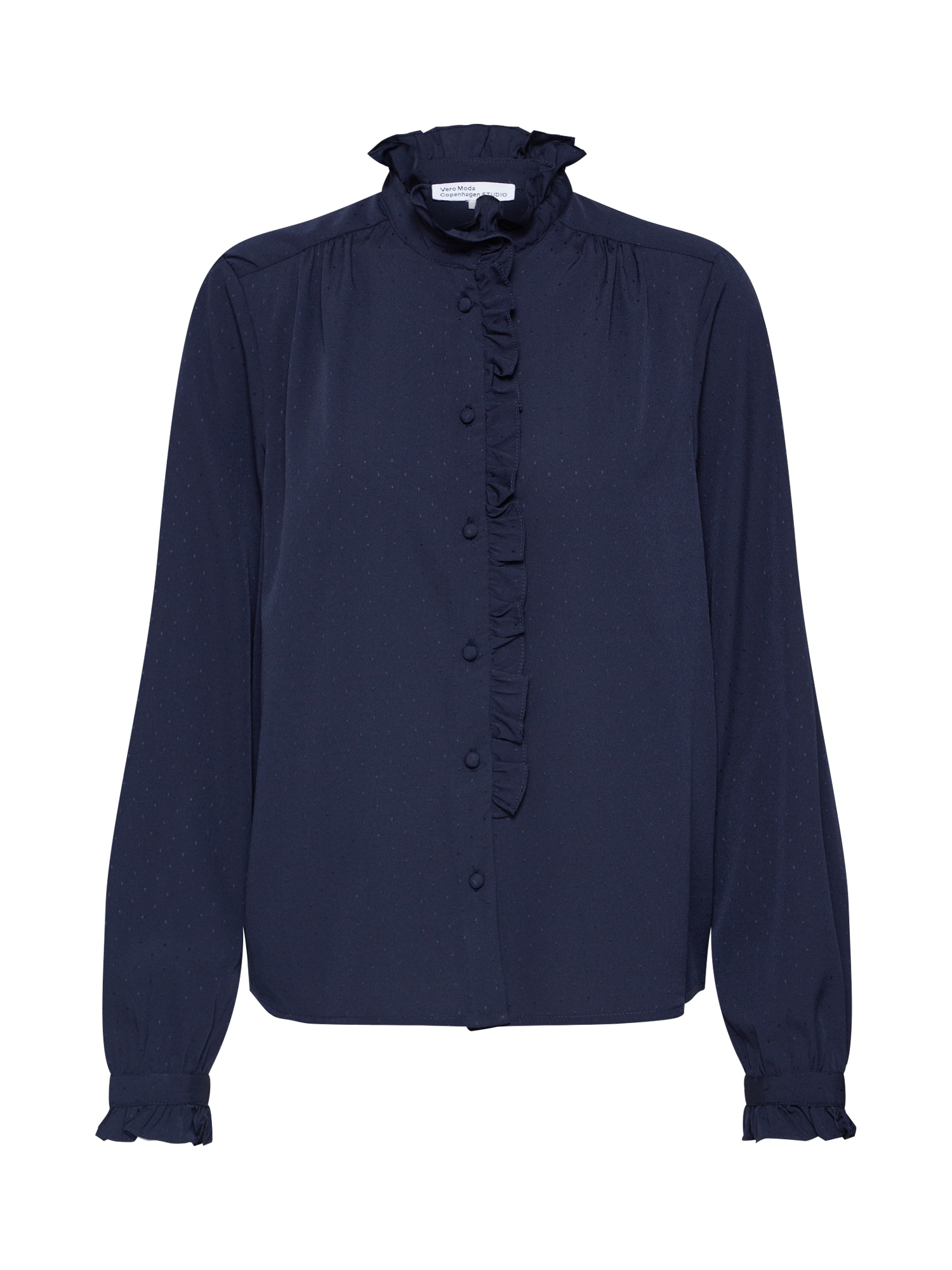 Vero Moda Copenhagen STUDIO Halenka 'LENA'  noční modrá