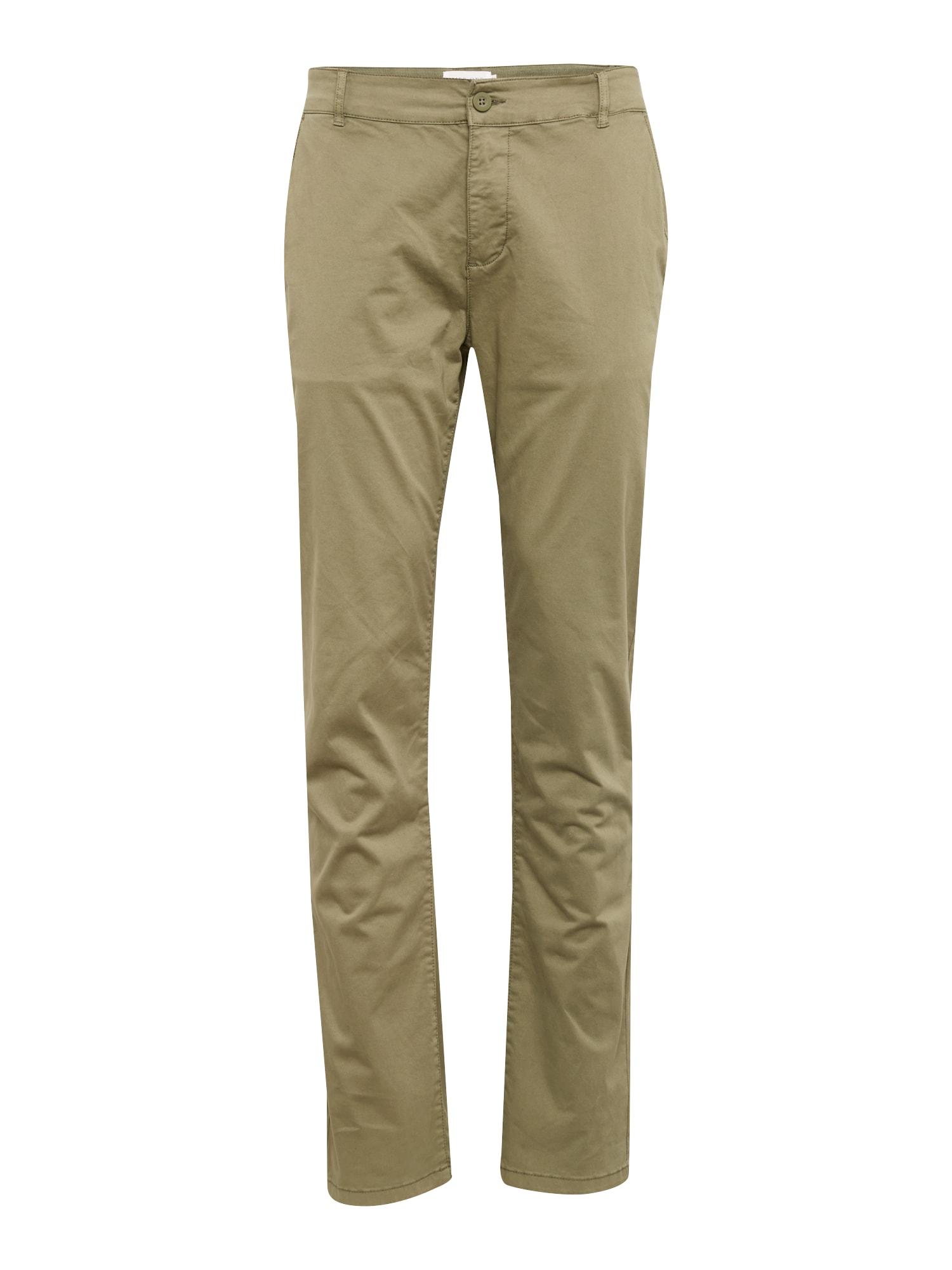 Chino kalhoty NEW GMD Chino olivová Pier One