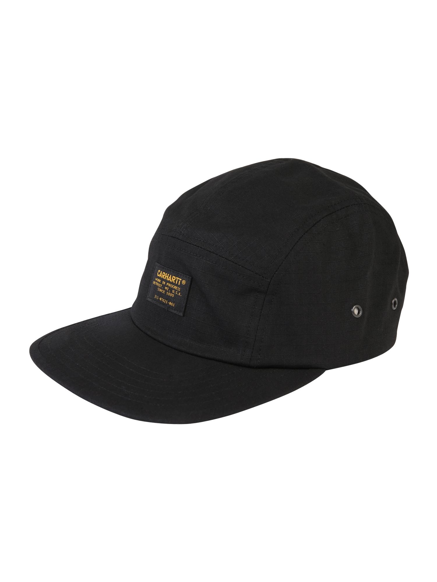 Kšiltovka Military černá Carhartt WIP