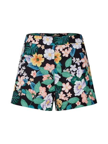 Hosen - Shorts 'Pardy' › Fashion Union › gelb grün schwarz weiß  - Onlineshop ABOUT YOU