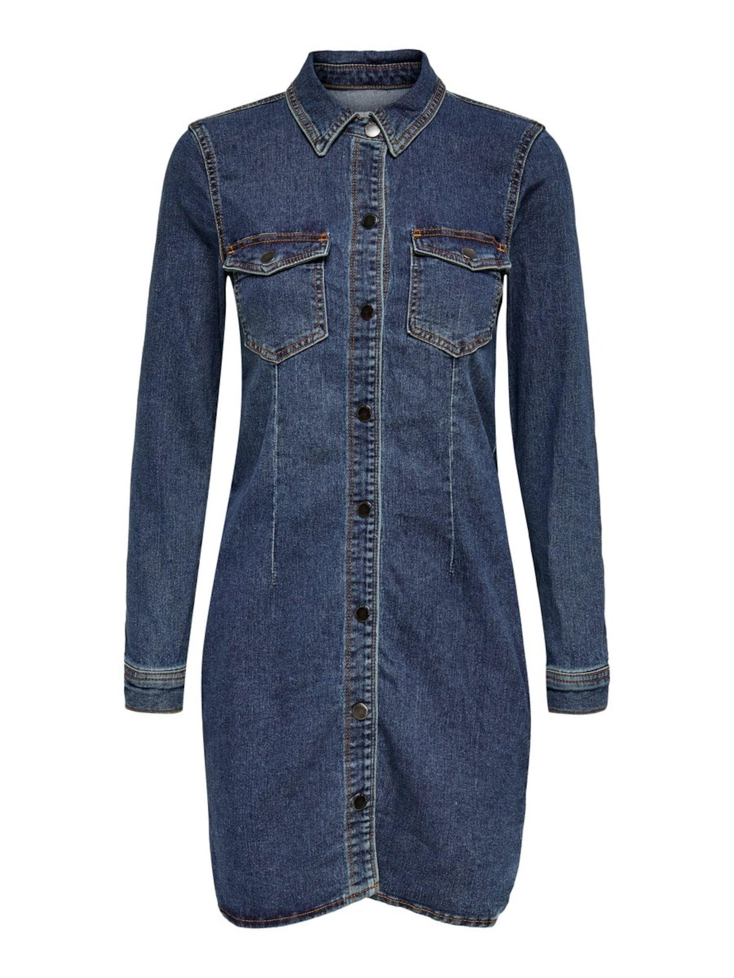 JACQUELINE de YONG Suknelė tamsiai (džinso) mėlyna