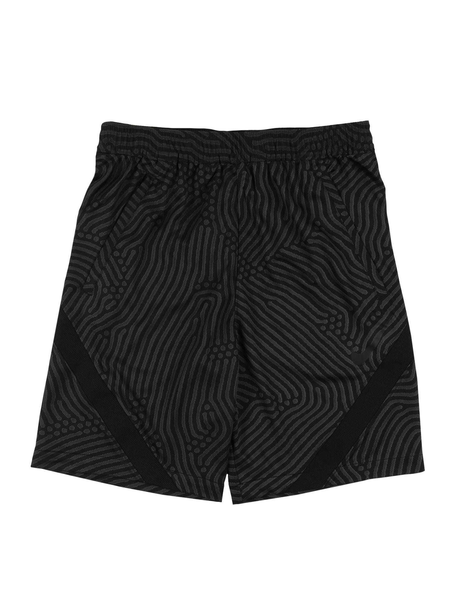NIKE Športové nohavice 'Strike'  antracitová / čierna