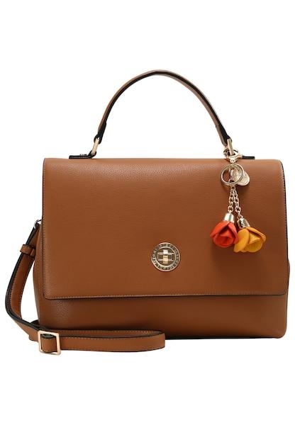Handtaschen - Henkeltasche 'Emily' › L.CREDI › cognac  - Onlineshop ABOUT YOU