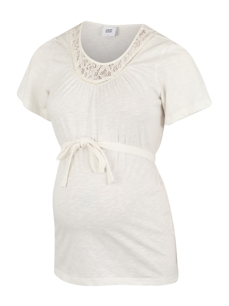 Schwangerschaftsmode für Frauen - MAMALICIOUS T Shirt 'Neva' offwhite  - Onlineshop ABOUT YOU