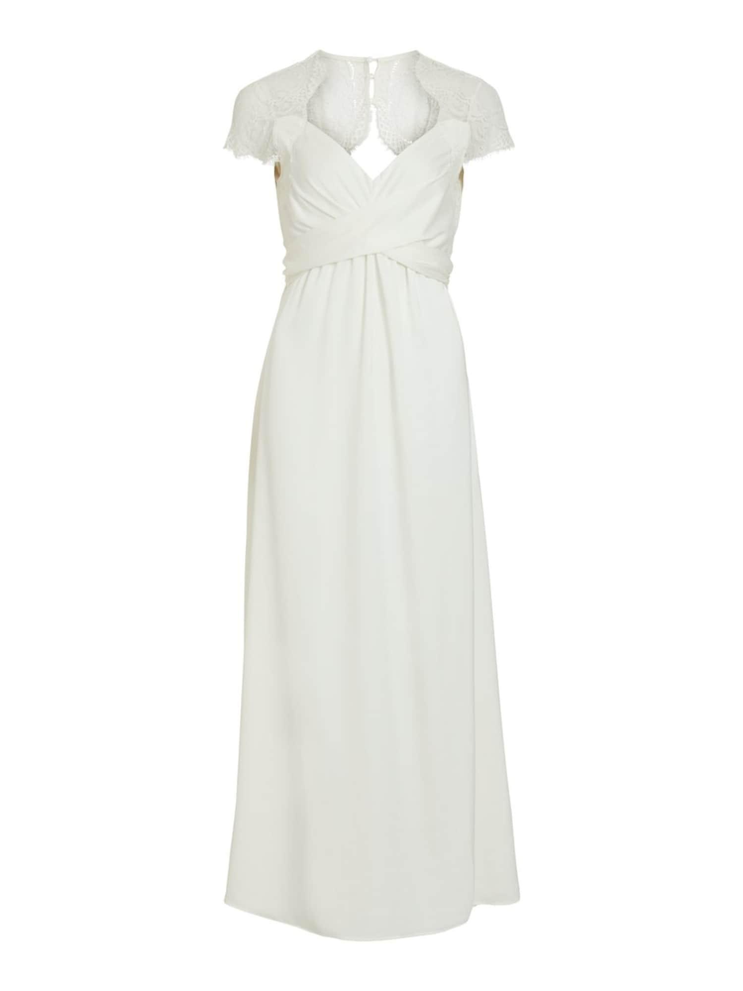 VILA Vakarinė suknelė balta