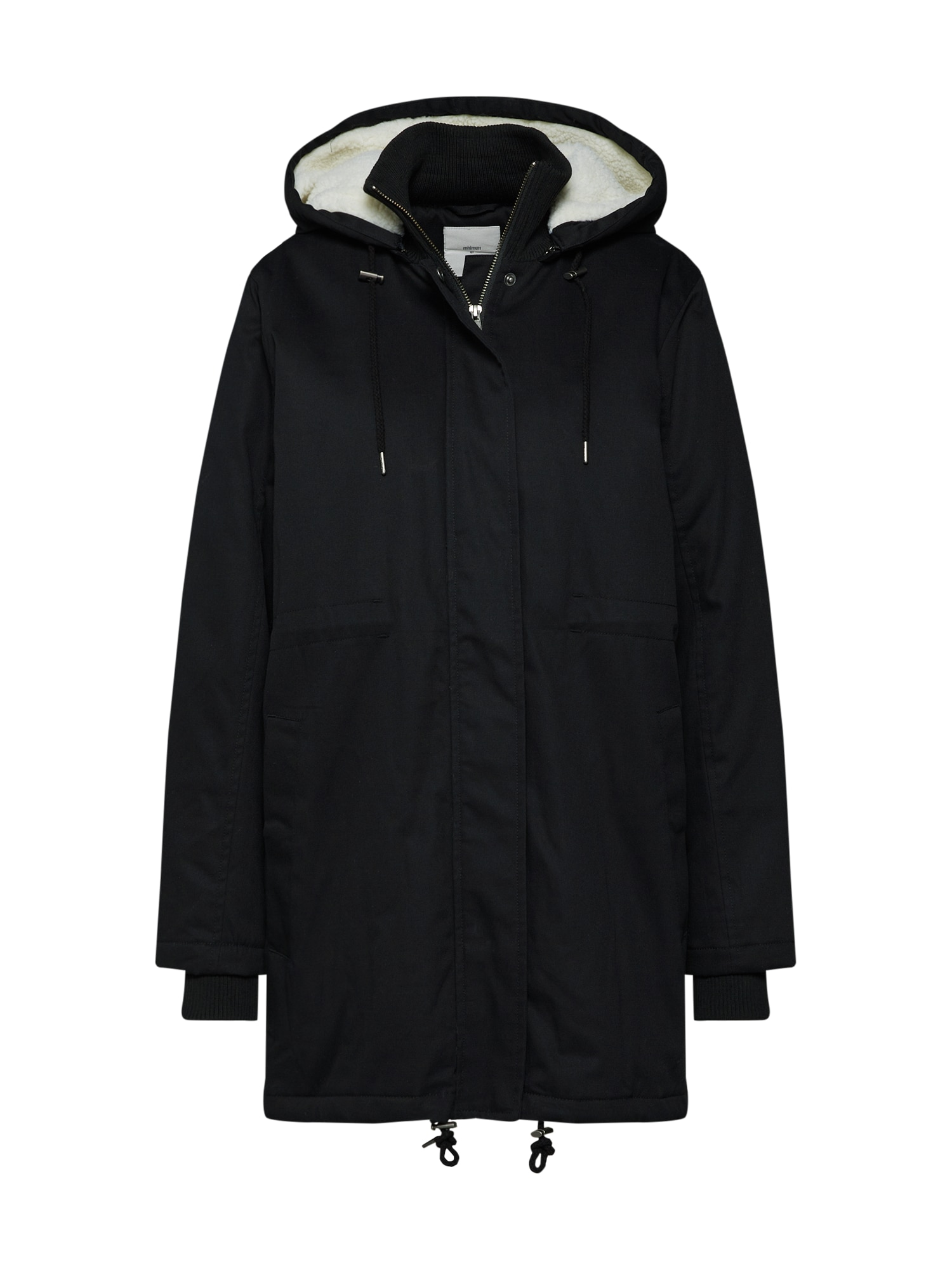 minimum Ilga rudeninė-žieminė striukė 'Jeannett' juoda