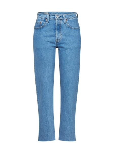 Hosen - Jeans '501® CROP' › Levi's › blue denim  - Onlineshop ABOUT YOU