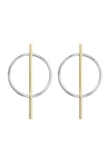 Ohrringe für Frauen - ELLI Ohrringe 'Geo' gold silber  - Onlineshop ABOUT YOU