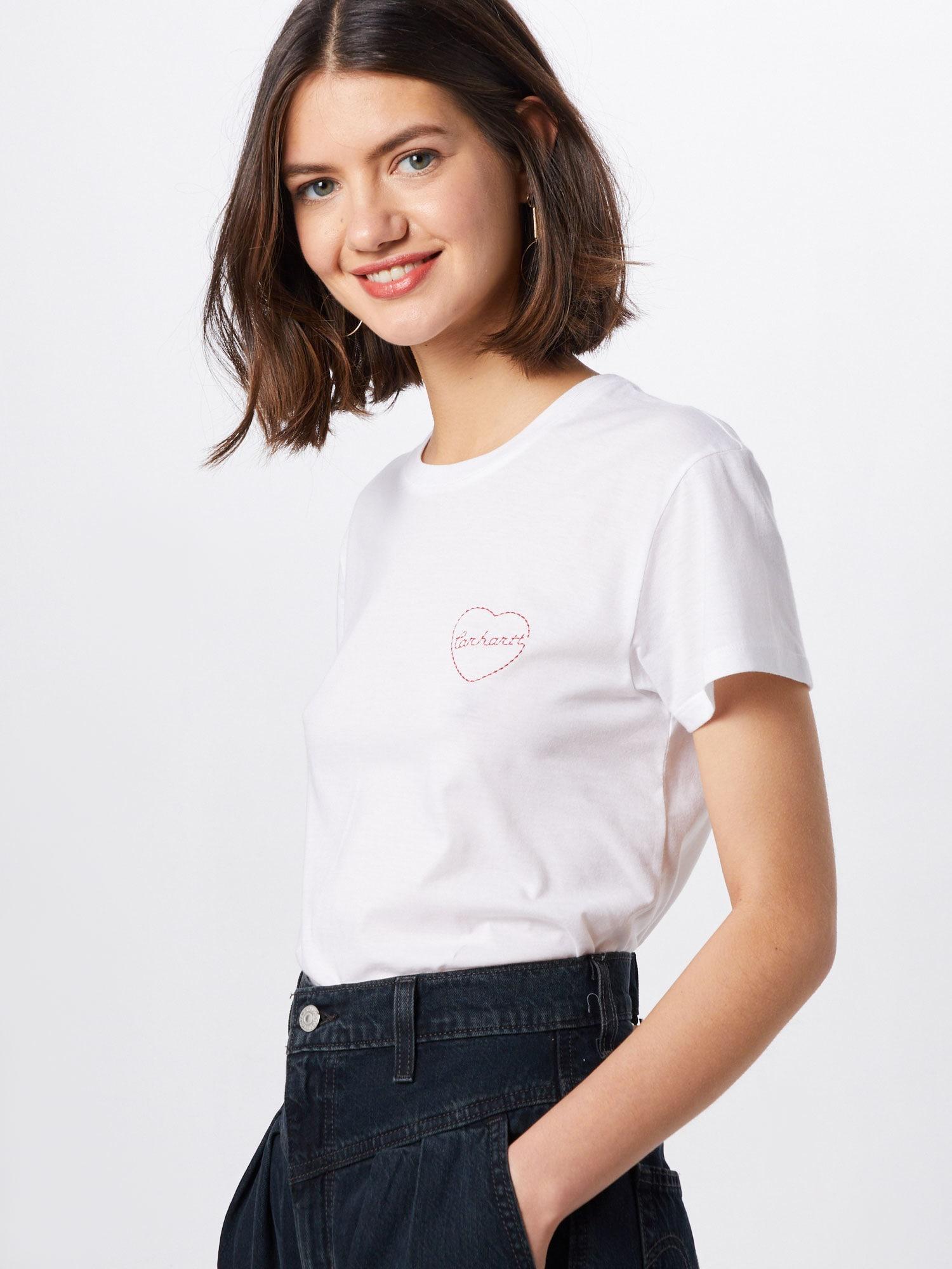 Carhartt WIP T-shirt 'Tilda Heart'  vit