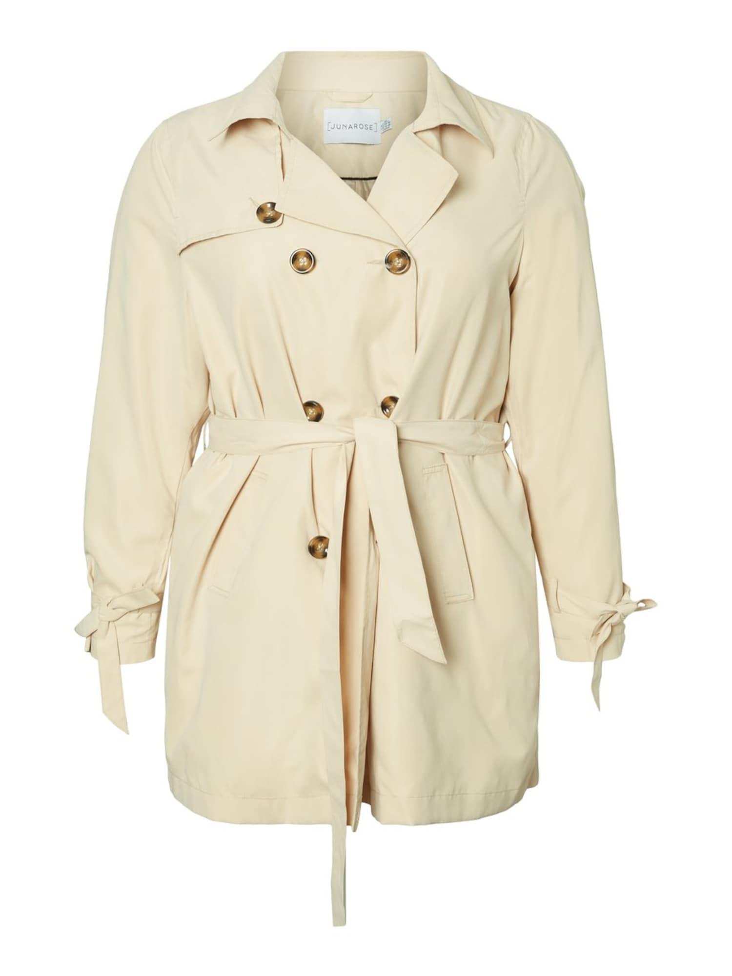 Junarose Rudeninis-žieminis paltas kremo