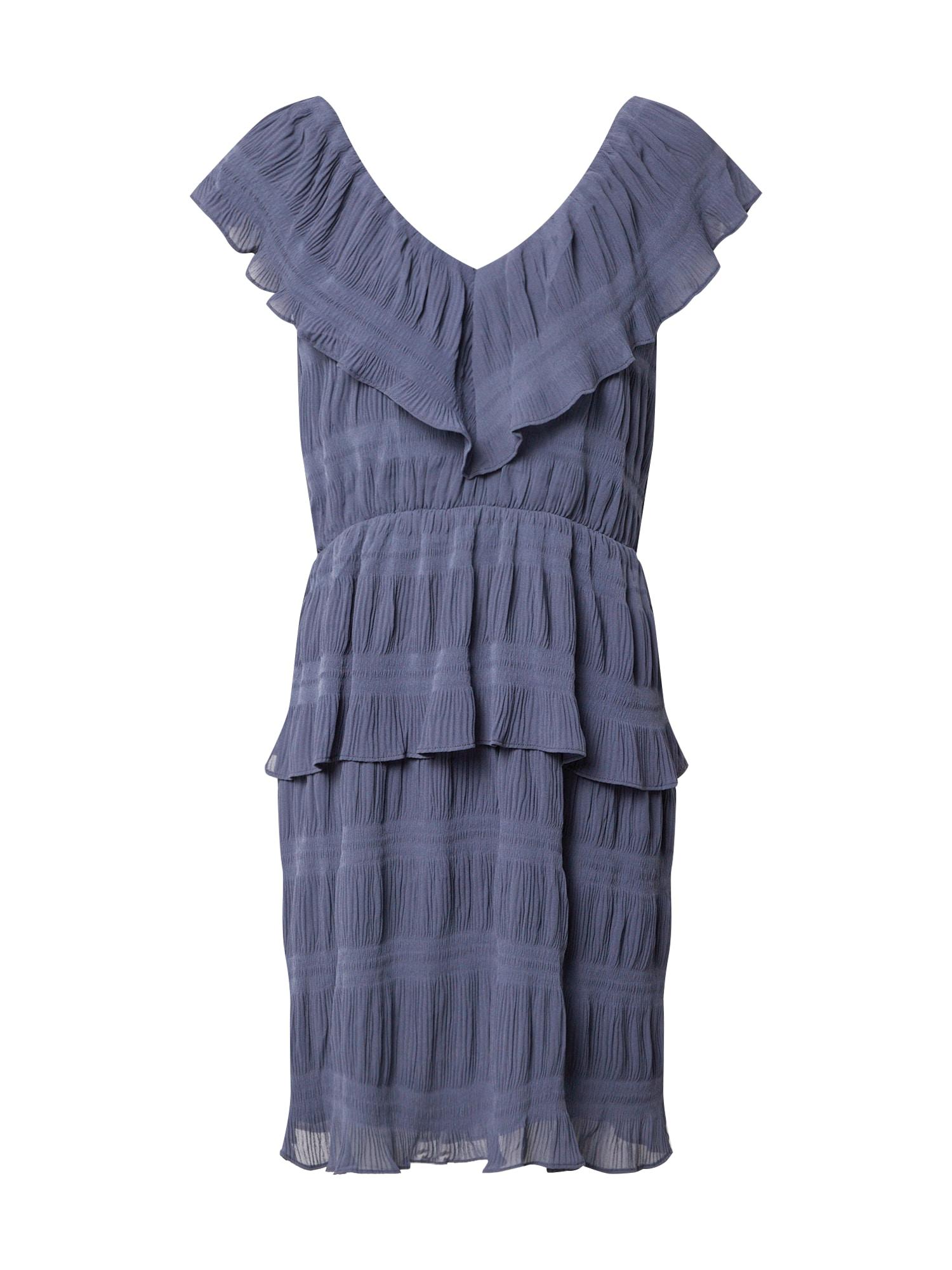 Y.A.S Kokteilové šaty 'YASSYDNEY SL MIDI DRESS - SHOW'  zafírová