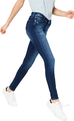 7 For All Mankind Skinny Jeans mit Mid-Waist