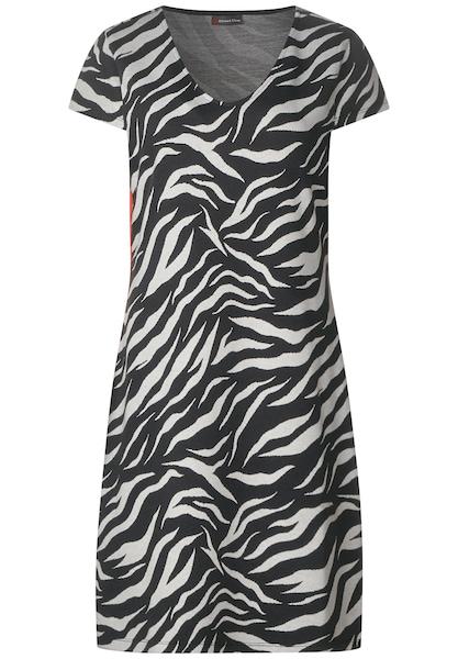 Kleider für Frauen - STREET ONE Kleid grau  - Onlineshop ABOUT YOU