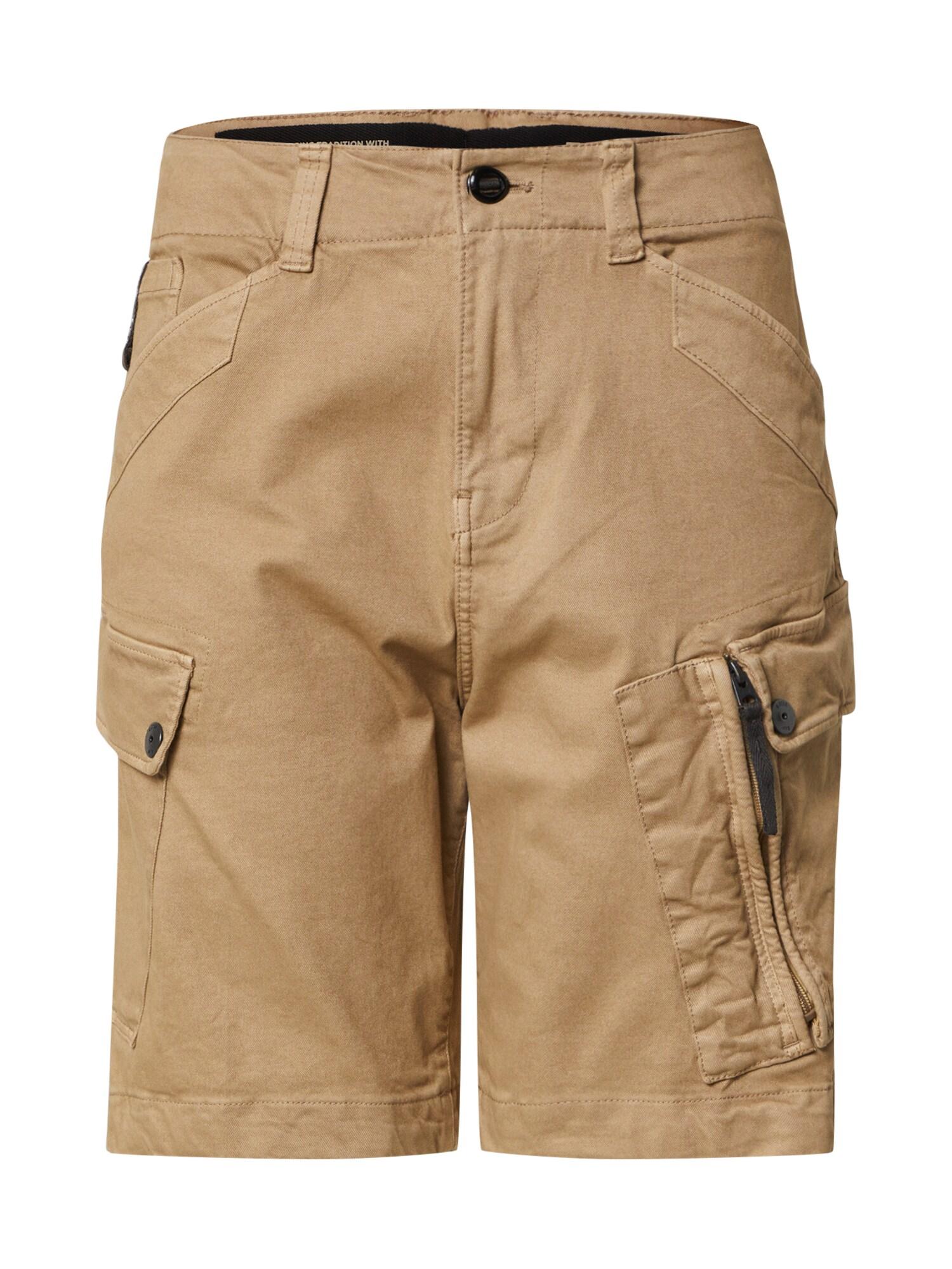 G-Star RAW Laisvo stiliaus kelnės 'Roxic' kupranugario