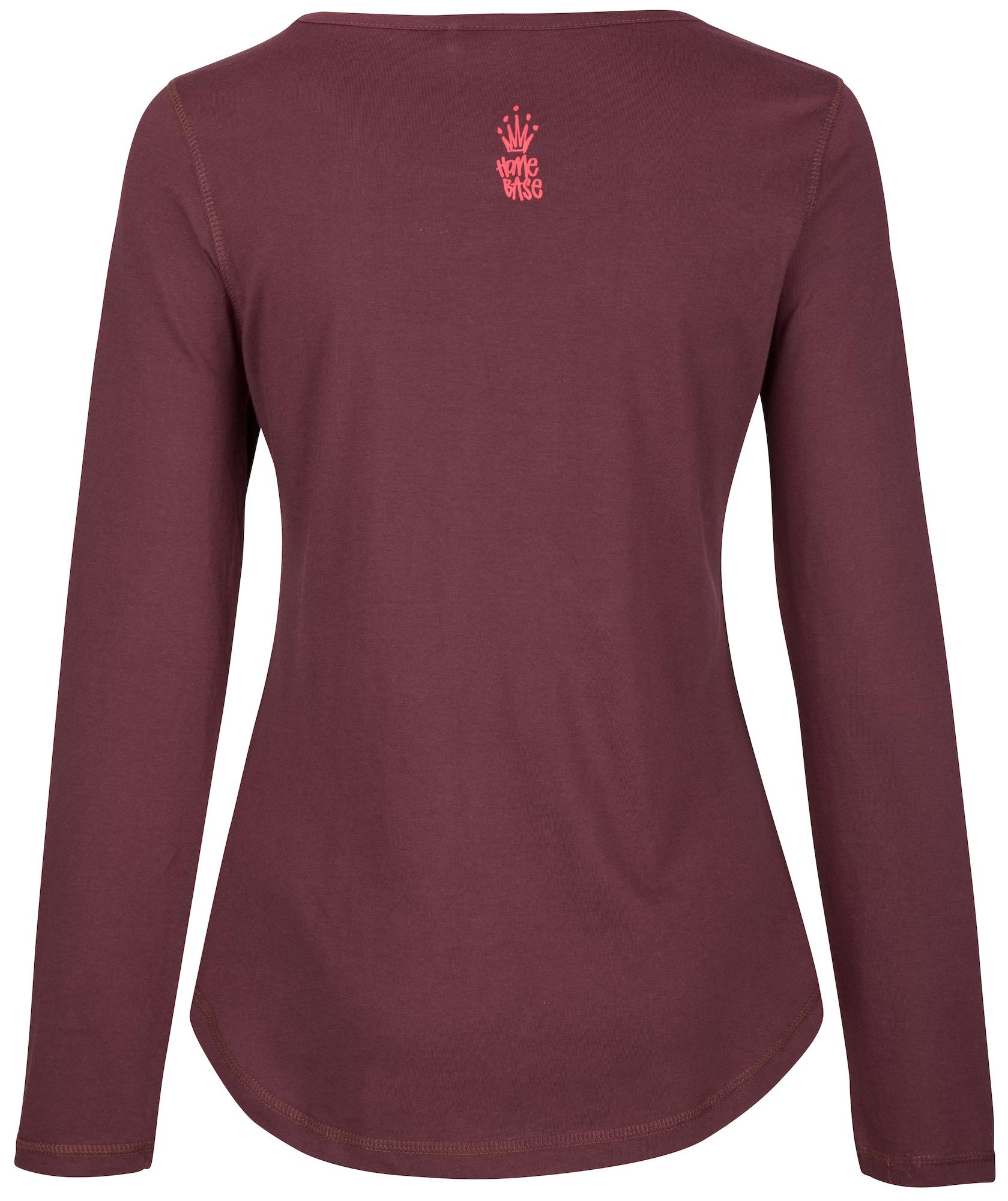 HOMEBASE, Damen Shirt Brandalised by Homebase, rood / bordeaux