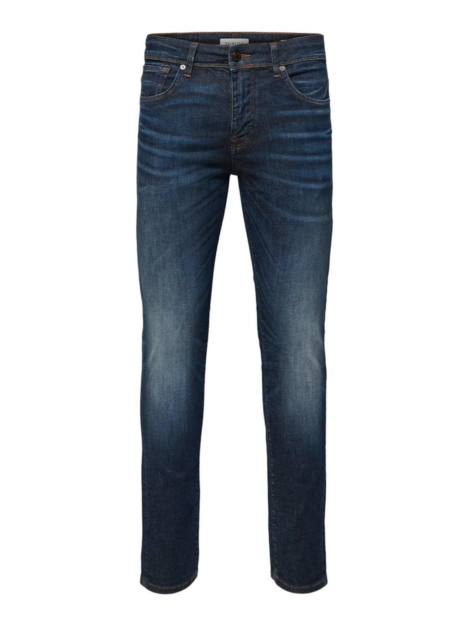 SELECTED HOMME Džinsai tamsiai (džinso) mėlyna