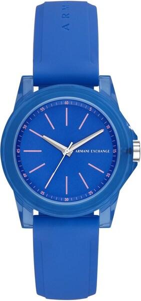 Uhren für Frauen - ARMANI EXCHANGE Quarzuhr 'AX4360' blau silber  - Onlineshop ABOUT YOU