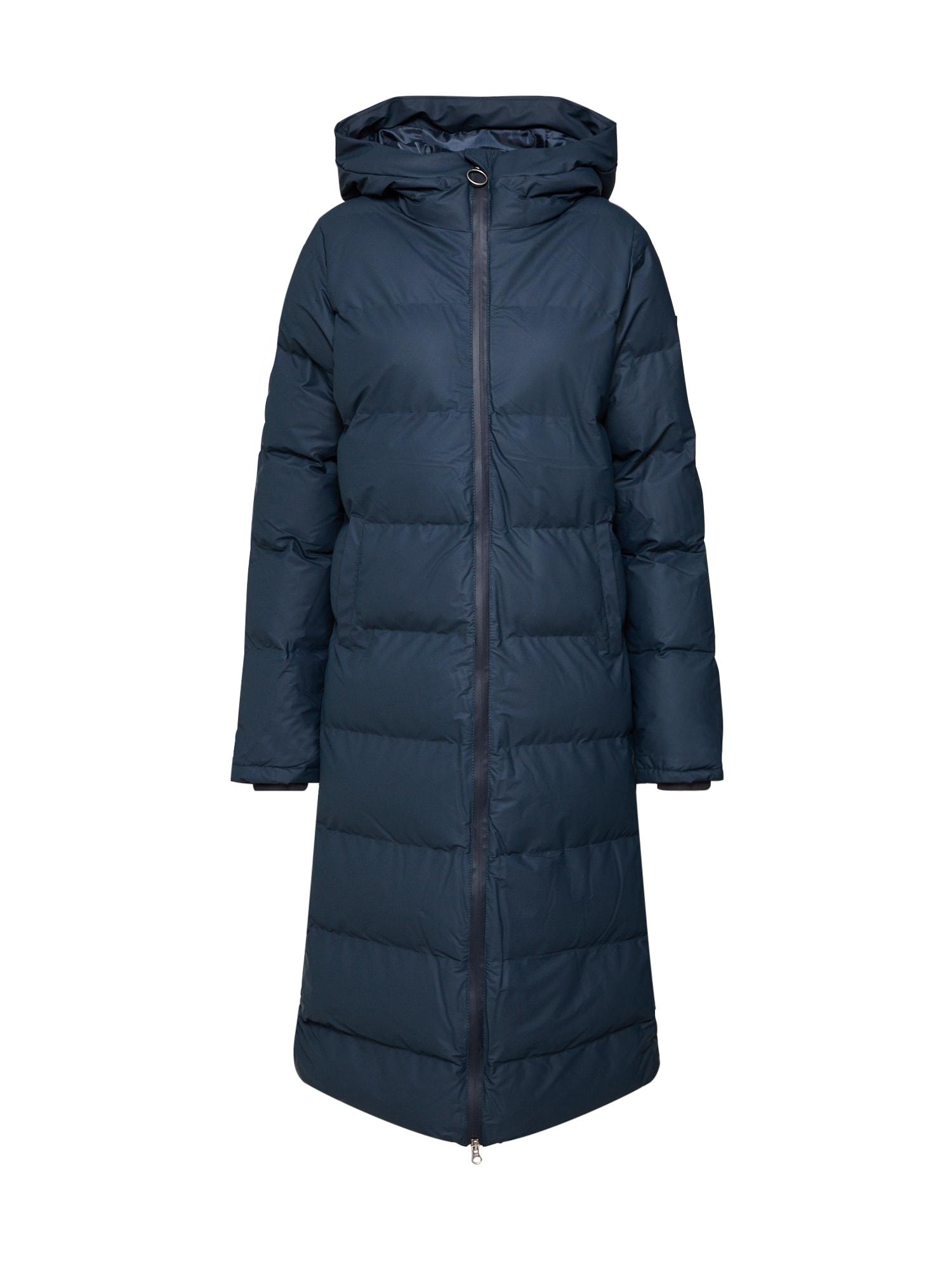 Derbe Žieminis paltas tamsiai mėlyna