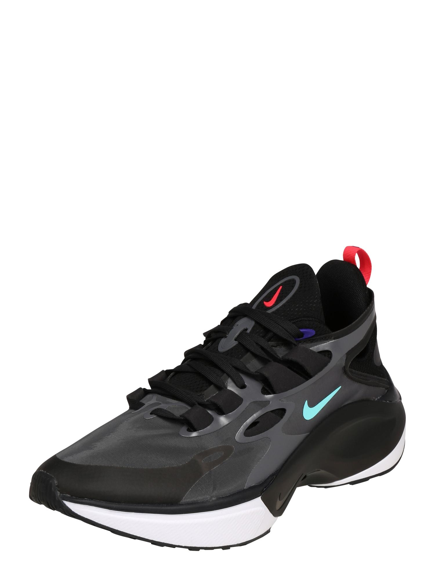 Nike Sportswear Nízke tenisky 'NIKE SIGNAL D/MS/X'  čierna / tmavosivá