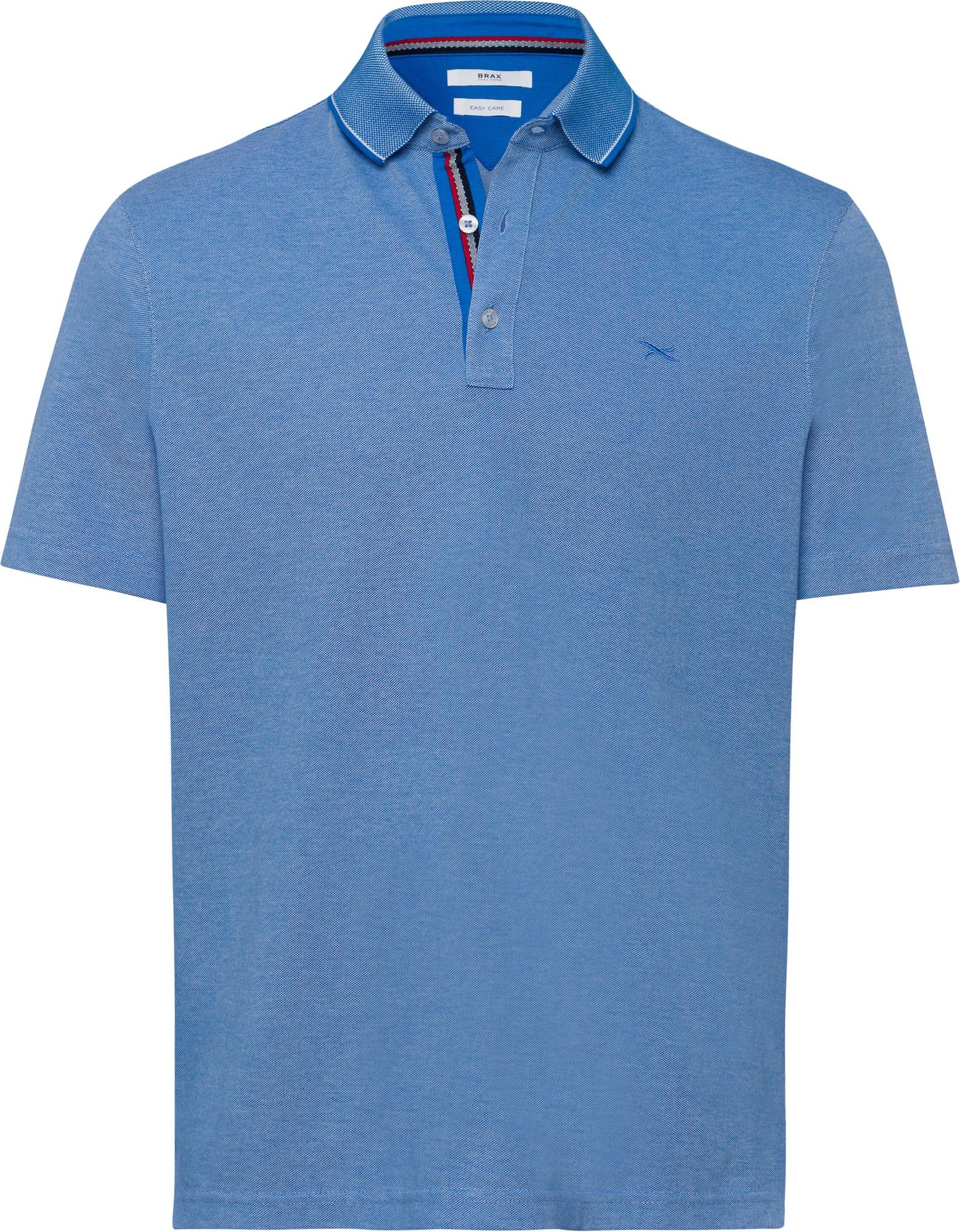 BRAX Marškinėliai mėlyna / raudona / dangaus žydra