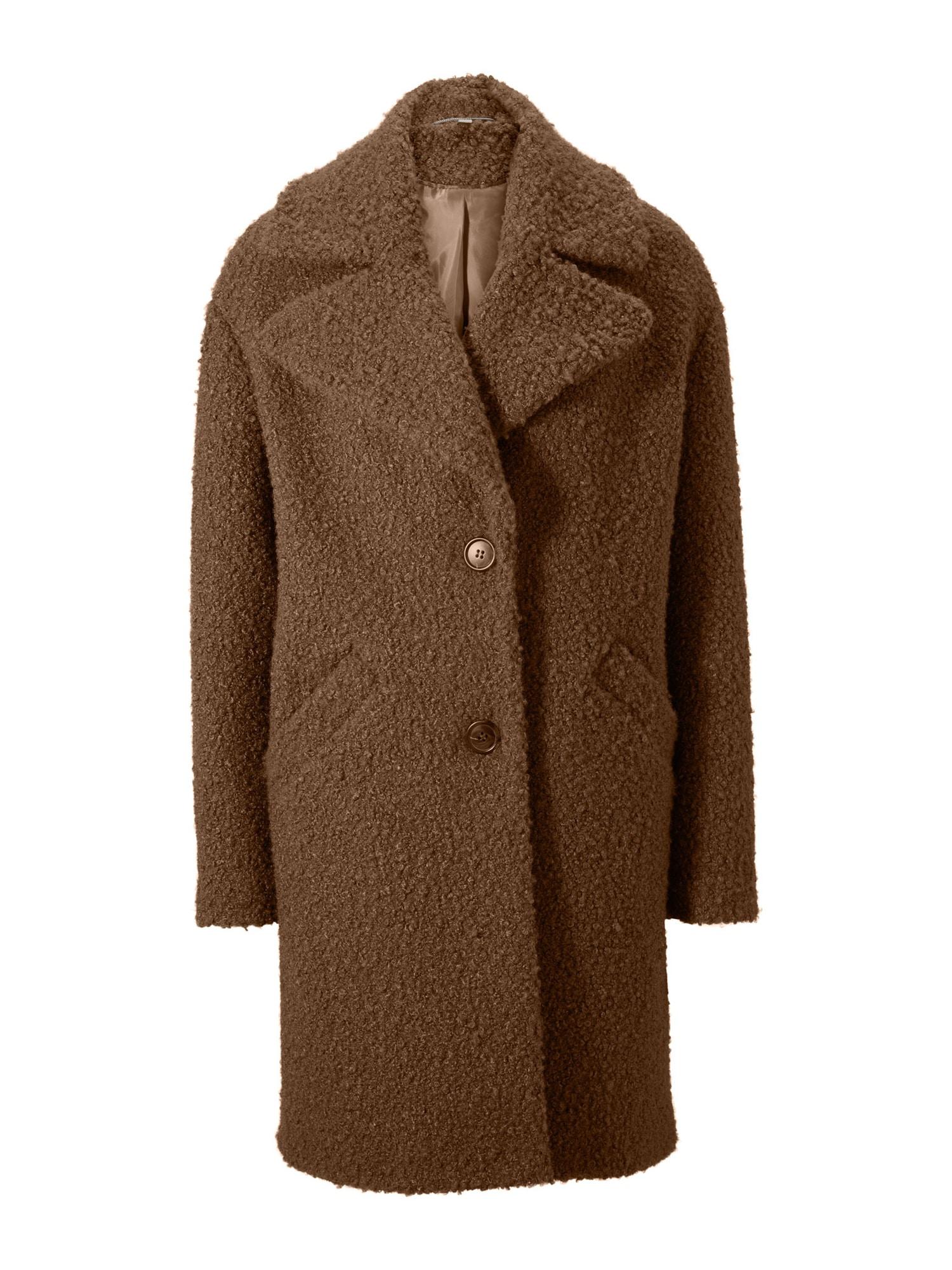 heine Demisezoninis paltas šokolado spalva