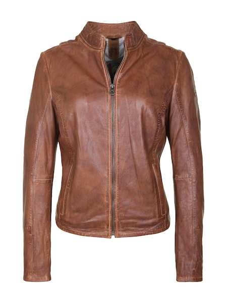 Jacken für Frauen - Gipsy Lederjacke 'Chessy S19 NSLONTV' cognac  - Onlineshop ABOUT YOU