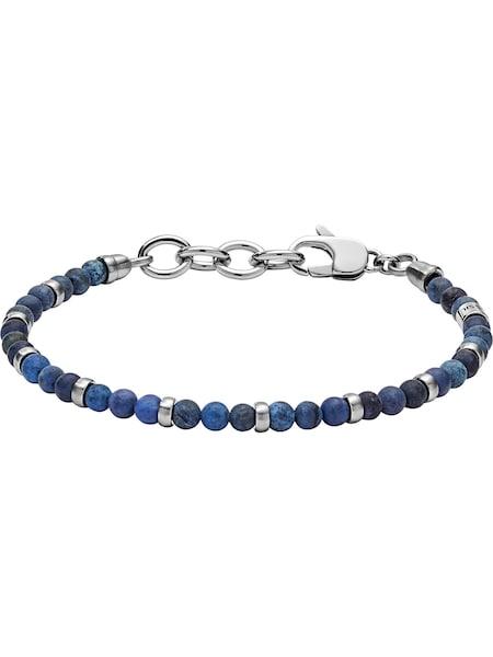 Armbaender für Frauen - FOSSIL Armband 'JF02821040' blau silber  - Onlineshop ABOUT YOU