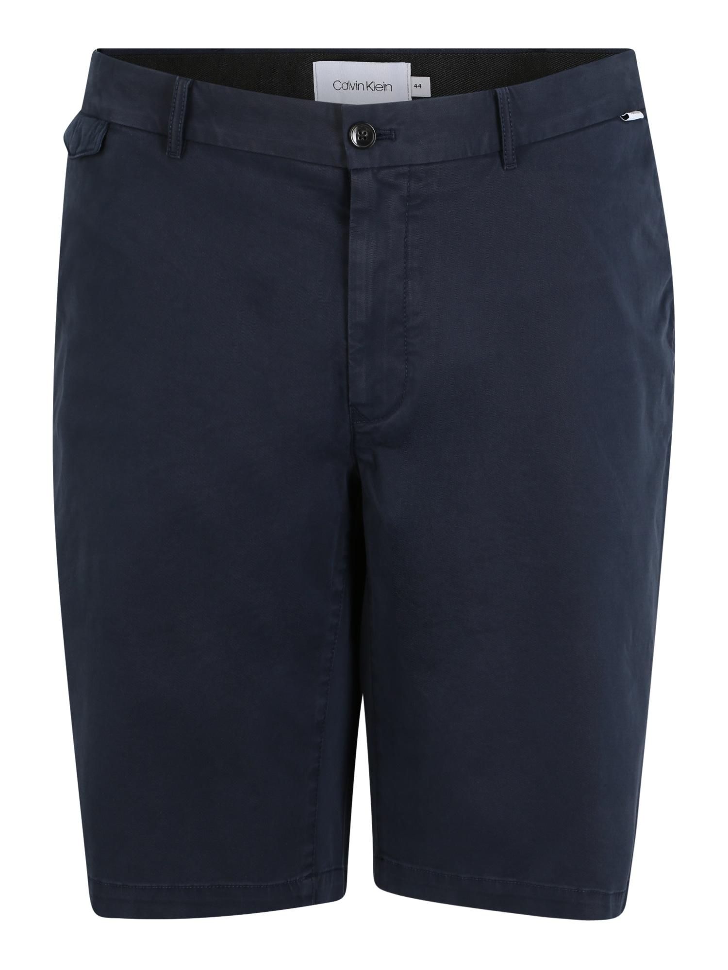 Calvin Klein Kelnės tamsiai mėlyna