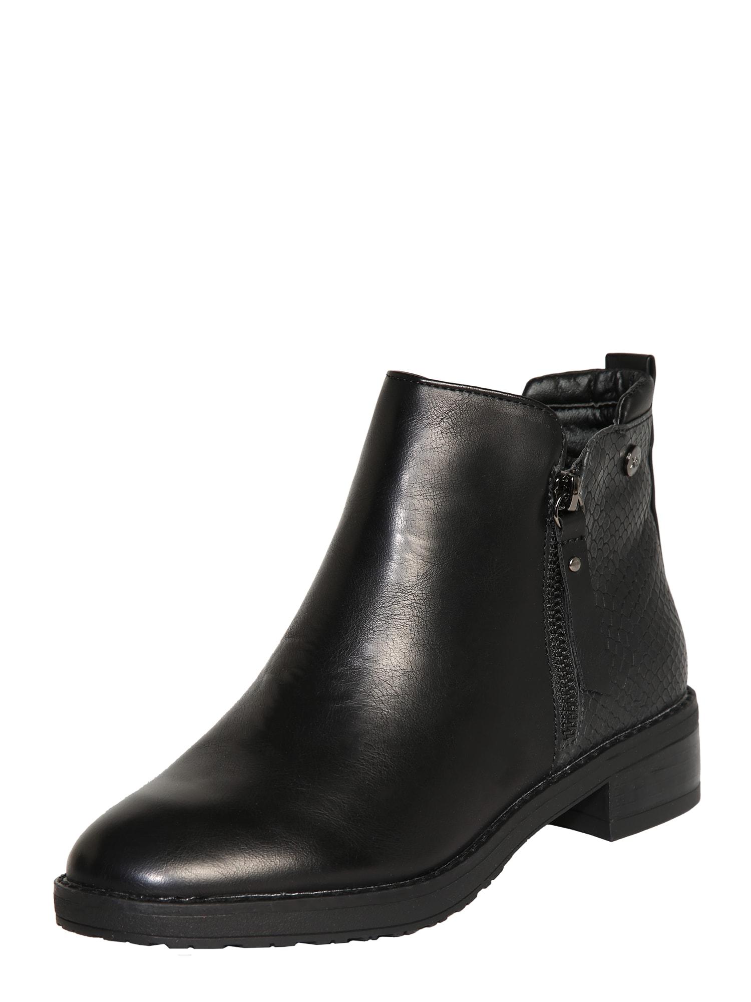 Xti Kulkšnis dengiantys batai juoda