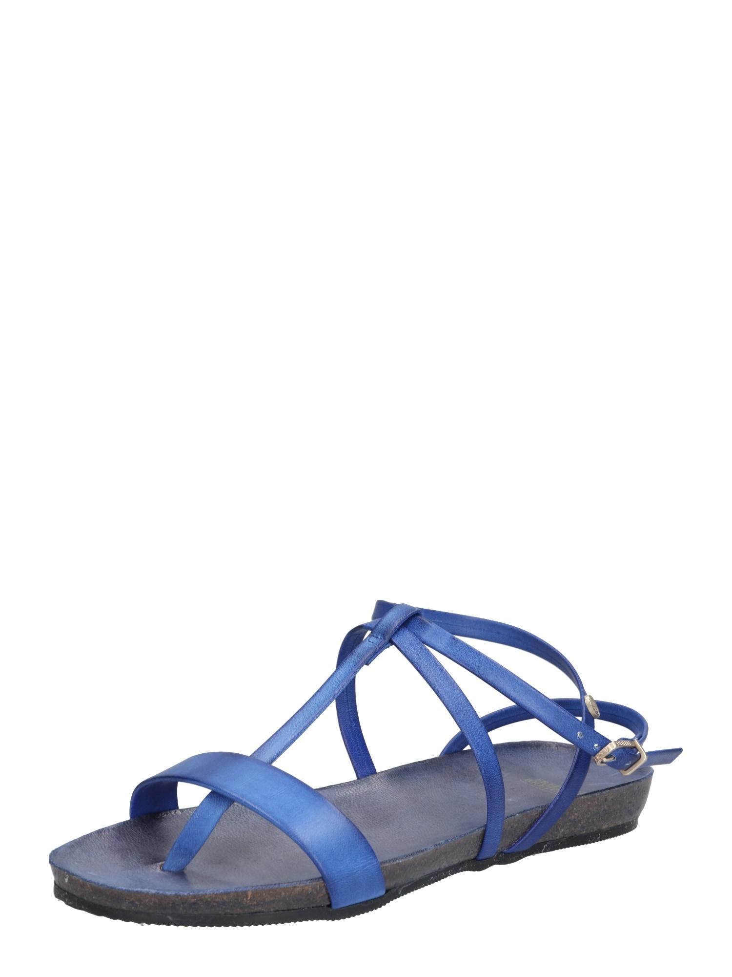 Sandály kobaltová modř Fred De La BretoniÈre