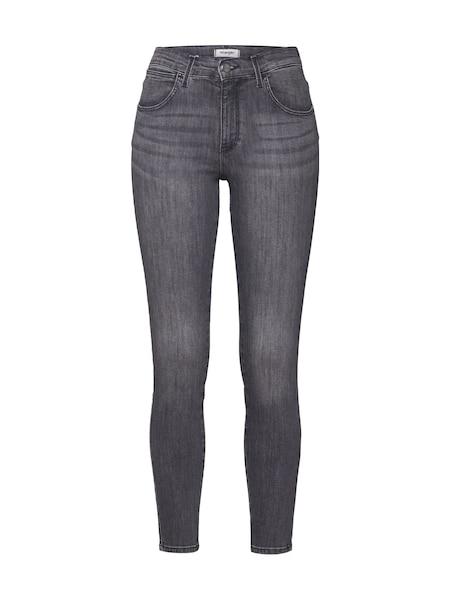 Hosen für Frauen - Jeans 'High Rise' › Wrangler › grey denim  - Onlineshop ABOUT YOU