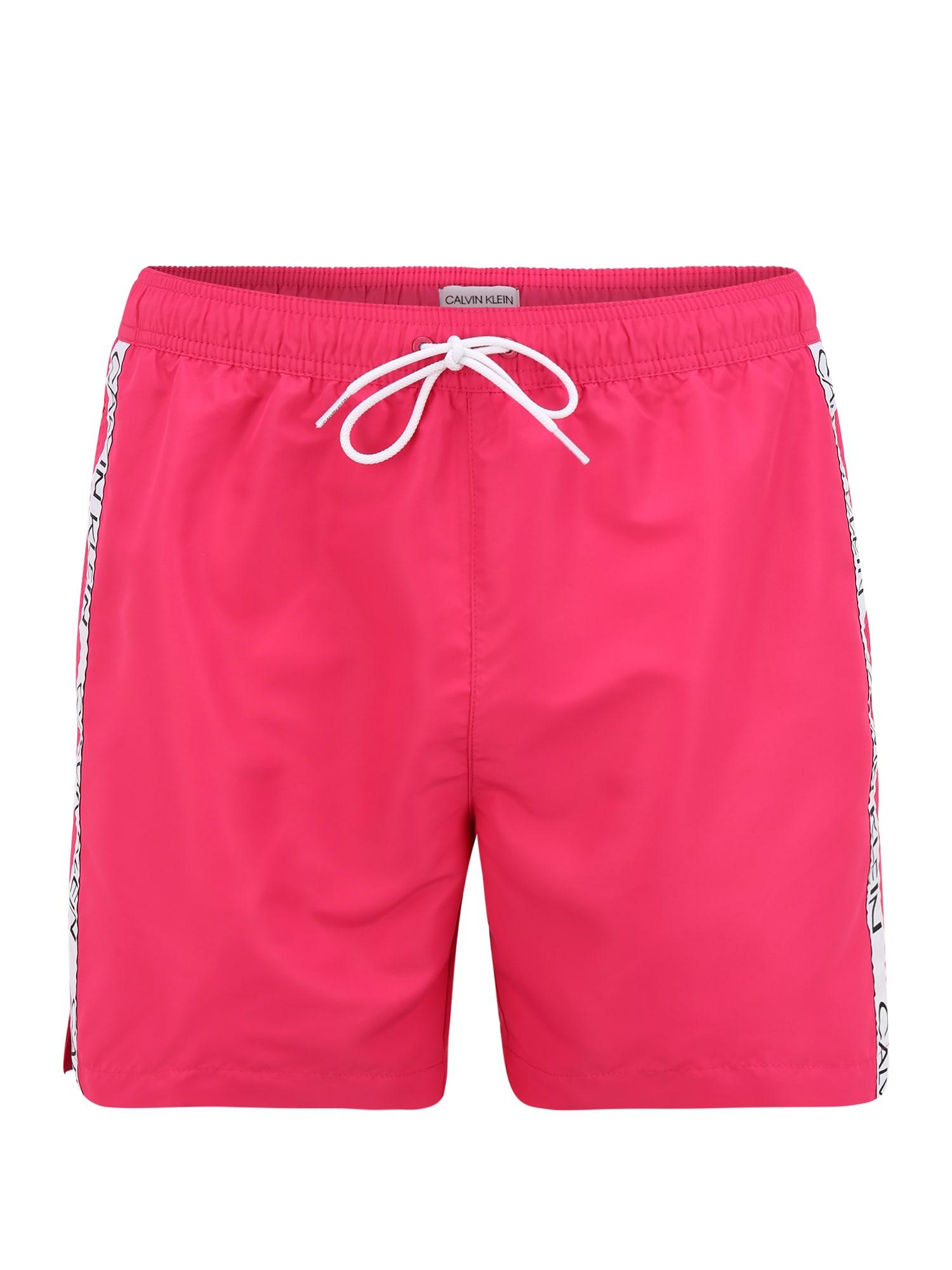 Calvin Klein Swimwear Maudymosi trumpikės rožinė