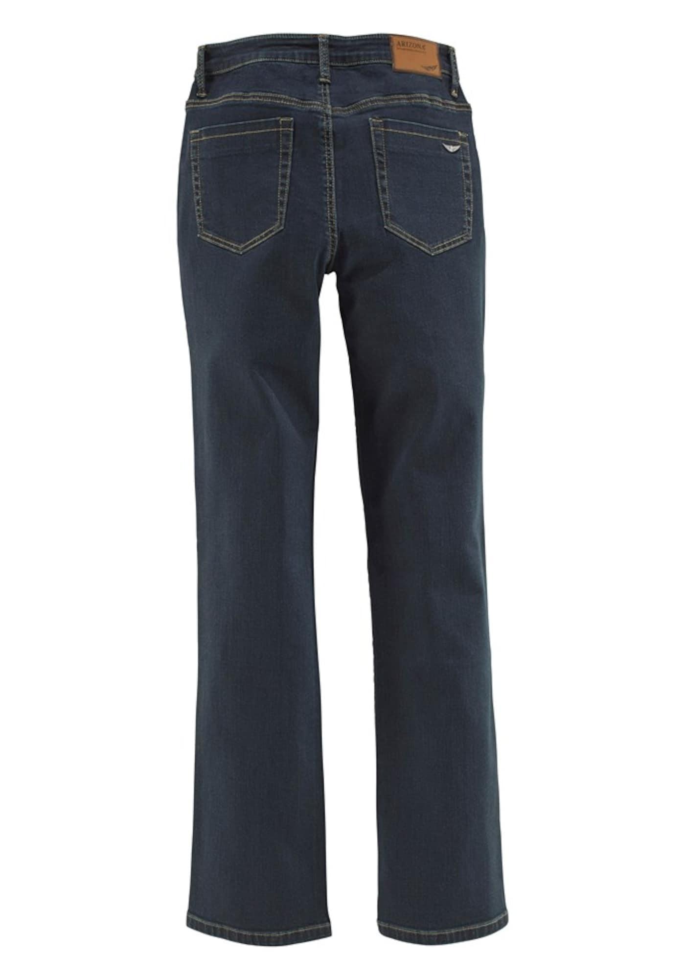 9acf01cddc ARIZONA Jeansy 'Gerade-Form mit komfortabler Leibhöhe  czarny denim