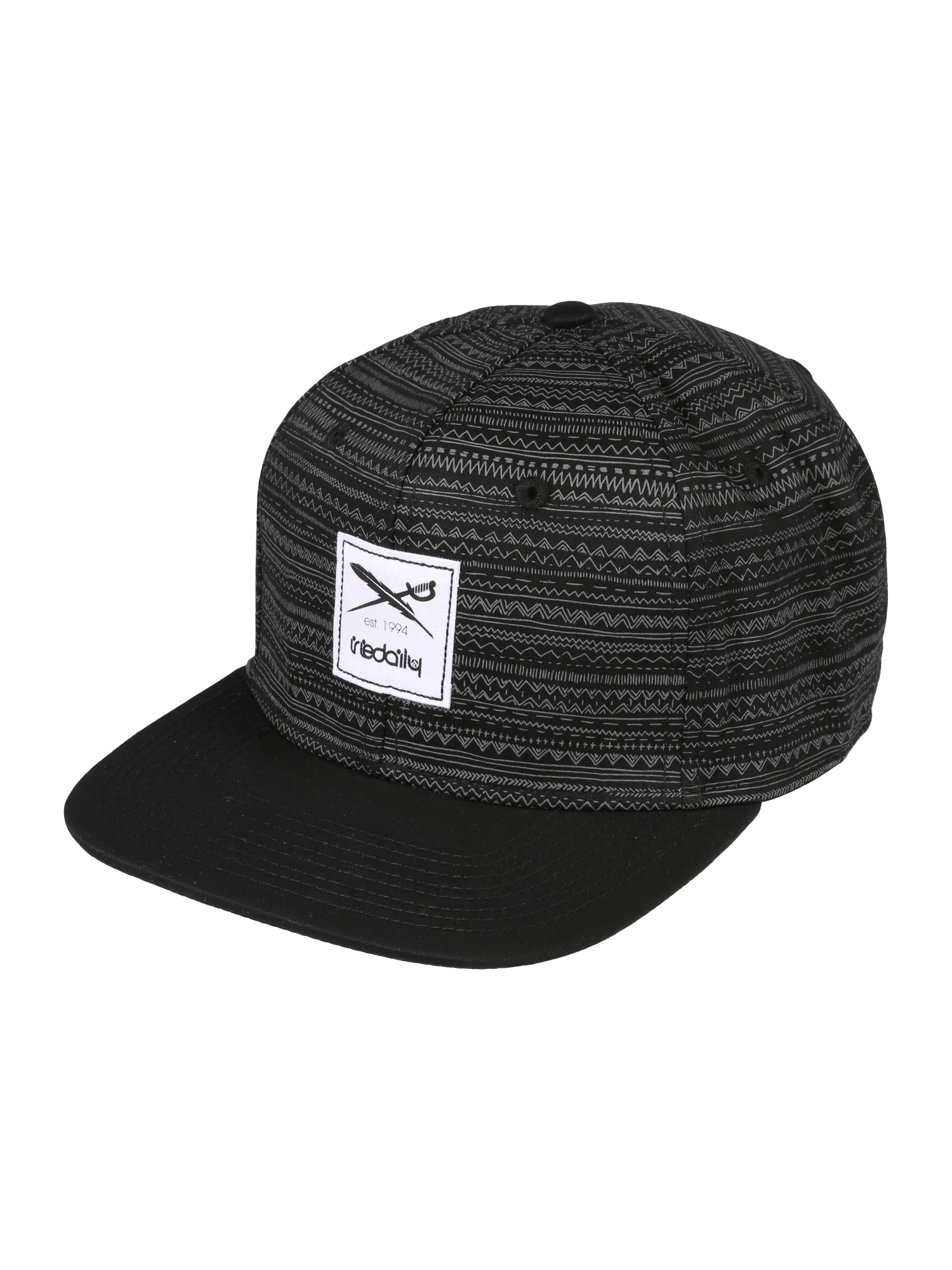 Iriedaily Kepurė 'La Banda Snapback' juoda