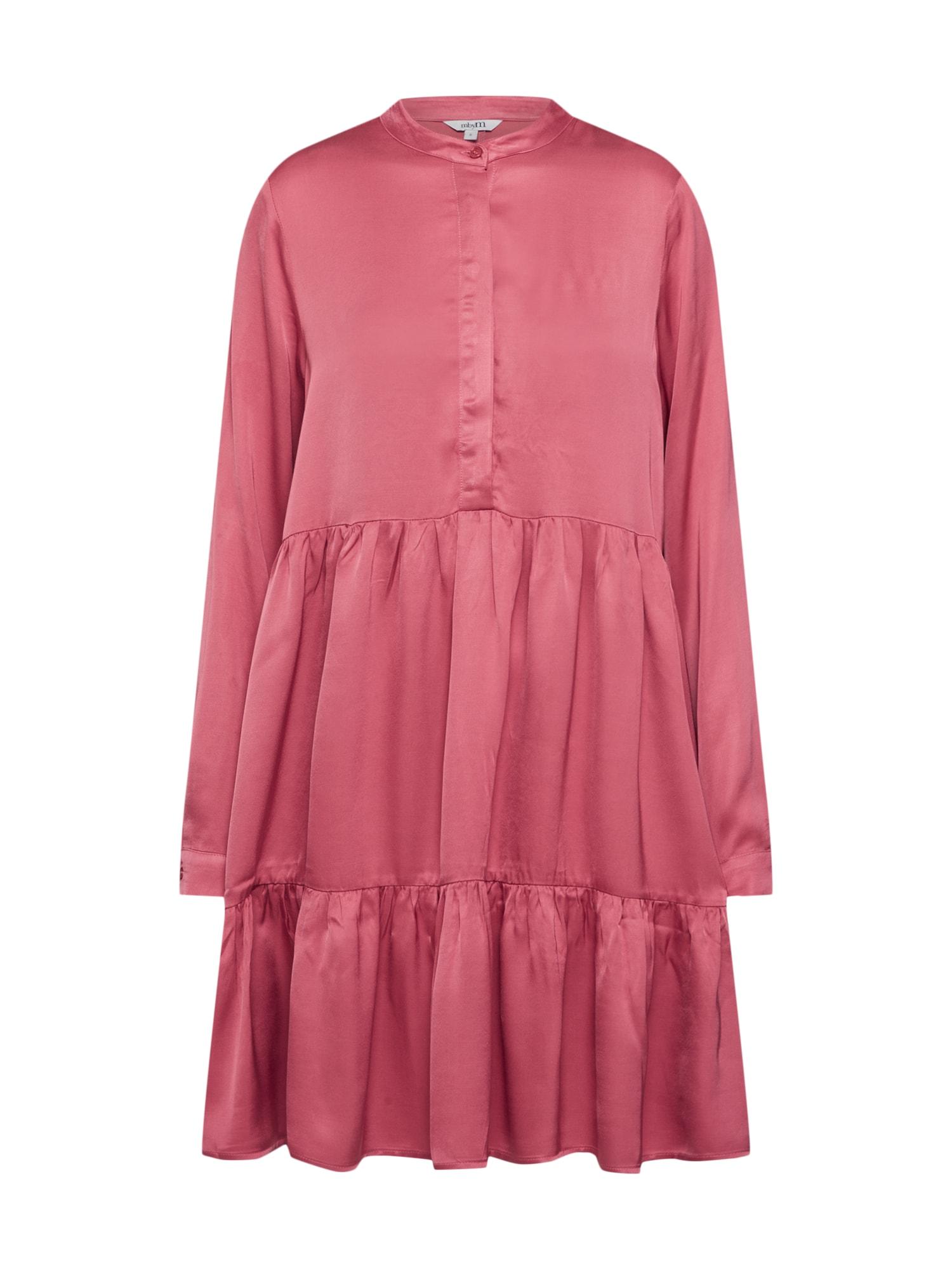 Košilové šaty Nacil růžová Mbym